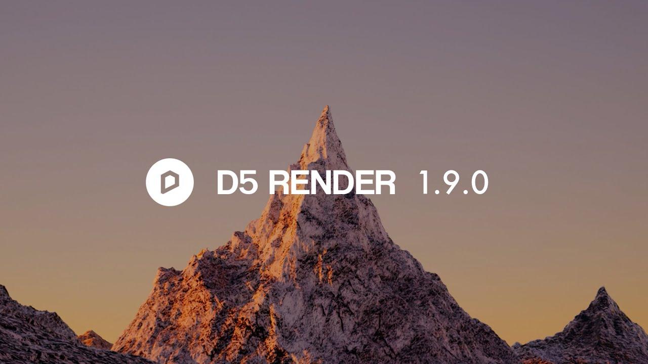 دانلود رایگان دیفایو رندر 1.9 پرو  Pro D5Render 1.9